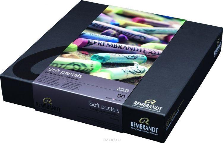 Royal Talens Набор пастели Rembrandt Профессиональный Ландшафт 90 цветов 31823092