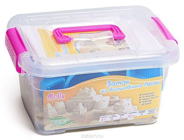 Molly Космический песок Замок из Волшебного песка 1 кг