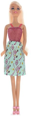ToysLab Кукла Ася А-стайл Блондинка в платье с принтом