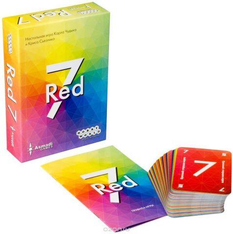 Hobby World Настольная игра Red 7