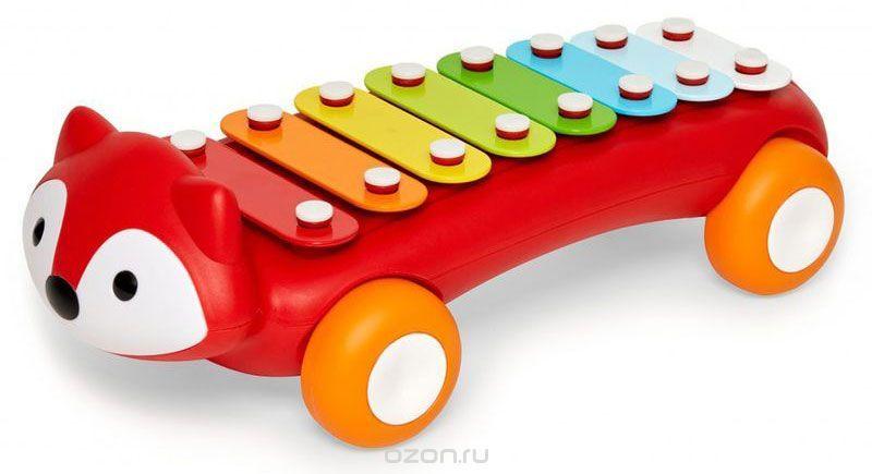 Skip Hop Развивающая игрушка Лиса-ксилофон