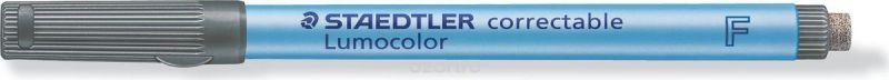 Staedtler Маркер Lumocolor с ластиком 0,6 мм цвет чернил черный