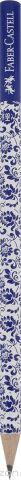 Faber-Castell Карандаш чернографитный Floral цвет корпуса белый синий