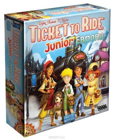Hobby World Настольная игра Ticket to Ride Junior Европа