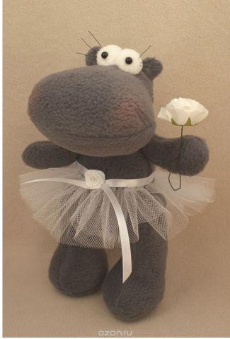 """Набор для изготовления игрушки Ваниль """"Hippo Story. Бегемотик"""", 23 см. HP001"""