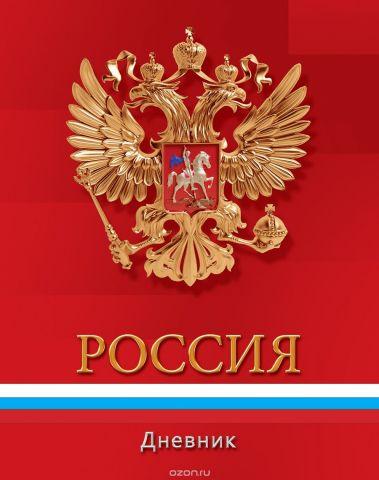 Апплика Дневник школьный для младших классов Российская символика-С3621-01