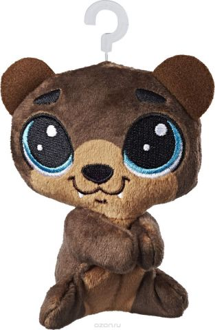 Littlest Pet Shop Мягкая игрушка Пет Hoffman Beary 10 см