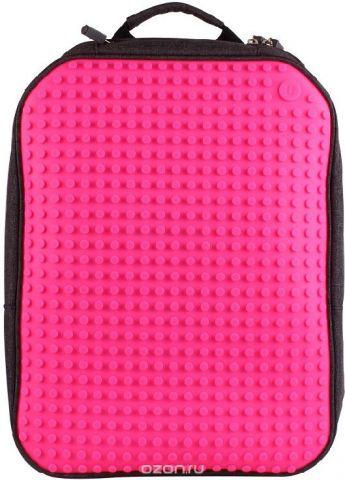 Upixel Пиксельный рюкзак большой ортопедическая спинка цвет фуксия