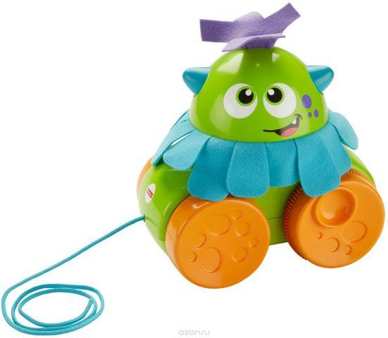 Fisher-Price Infant Toys Развивающая игрушка Монстрик Ходим и играем