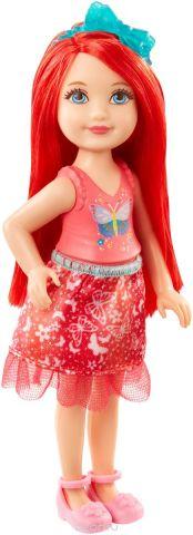 Barbie Кукла Принцесса цвет красный DVN03