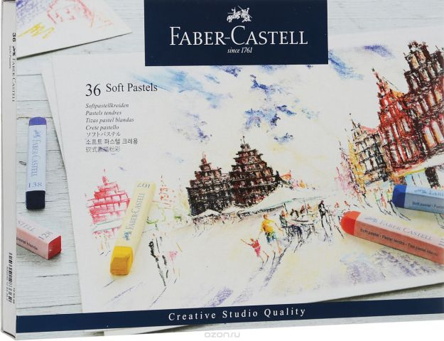"Мягкие мелки Faber-Castell ""Studio Quality Soft Pastels"", 36 шт"