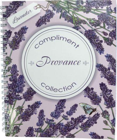 Expert Complete Тетрадь Compliment Provance 96 листов цвет светло-розовый голубой формат A5