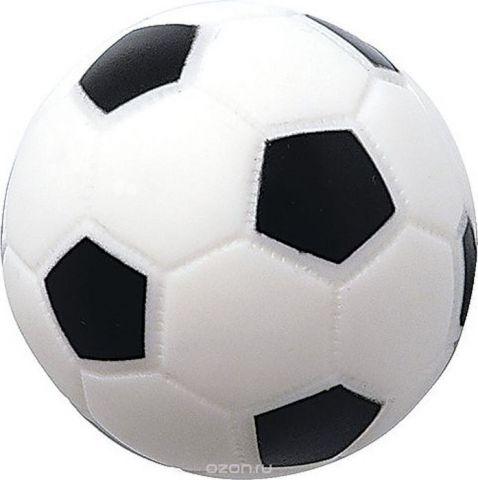 ПОМА Игрушка для ванной Мячик футбольный с пищалкой