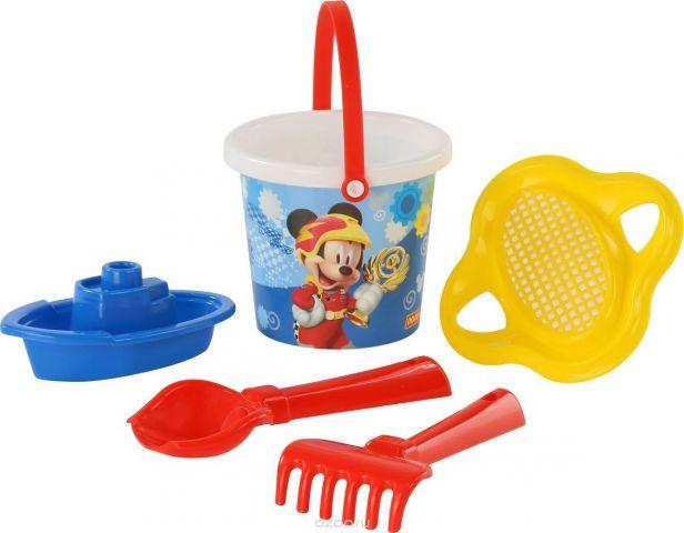 Disney Набор игрушек для песочницы Микки и Веселые гонки №3
