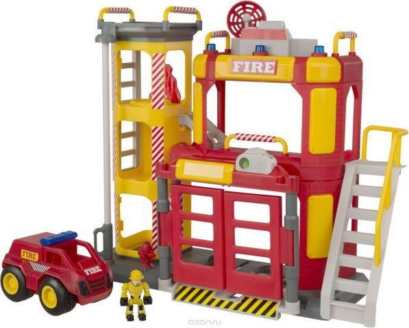HTI Большая пожарная станция Teamsterz