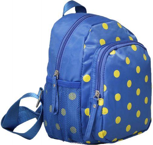 Рюкзак детский Горошек цвет синий 1470166