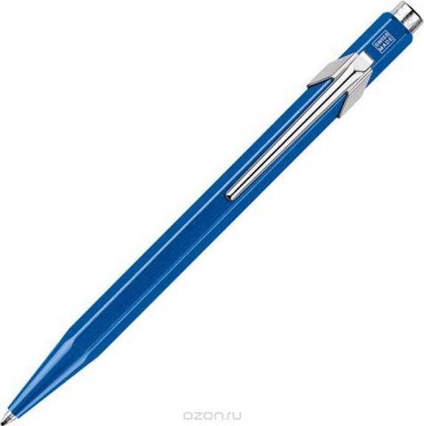 Caran d'Ache Ручка шариковая Office 849 Pop Line цвет корпуса: синий, цвет чернил: синий