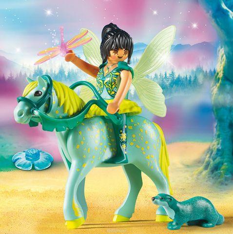 Playmobil Игровой набор Феи Зачарованная фея с лошадью