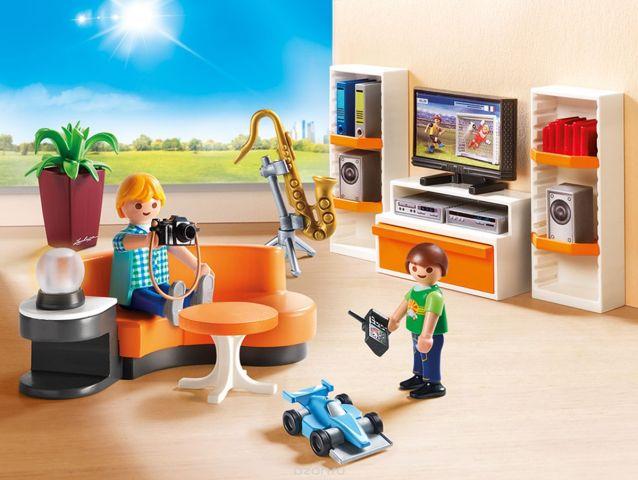 Playmobil Игровой набор Кукольный дом Жилая комната