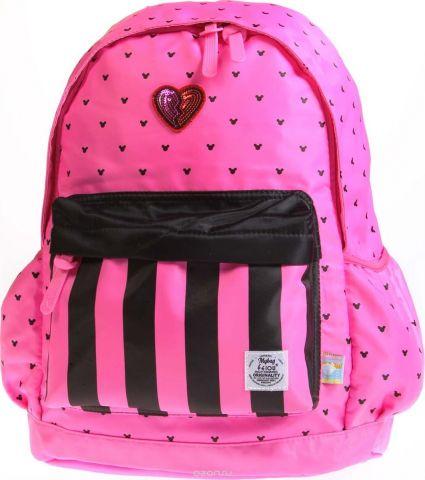 Vittorio Richi Рюкзак детский с наполнением цвет розовый черный K05R5501
