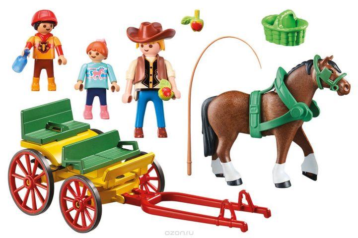 Playmobil Игровой набор Гужевая повозка