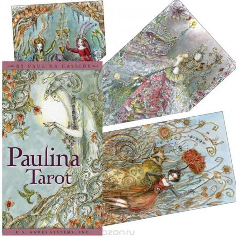 Карты Таро U.S. Games Systems Paulina Tarot