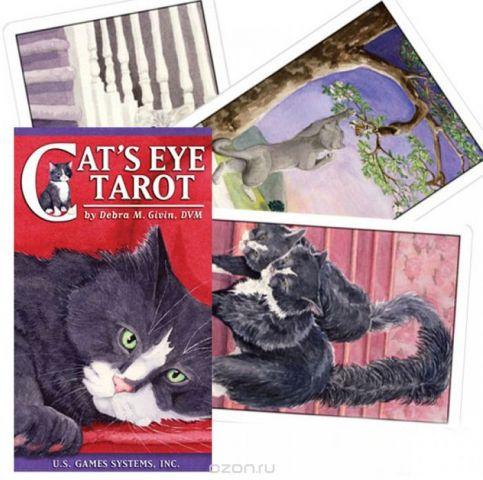 Карты Таро U.S. Games Systems Cats Eye Tarot