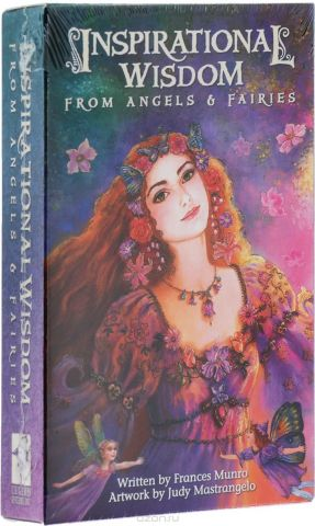 Карты Таро U.S. Games Systems Inspirational Cards Inspirational Wisdom From Angels & Fairies