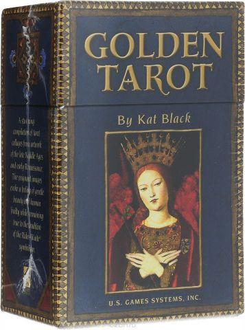 Карты Таро U.S. Games Systems Golden Tarot