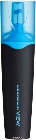 Текстовыделитель Uni, USP-200 цвет: голубой, 1,0 - 5,0 мм