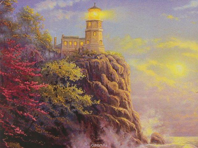 """Картина по номерам Школа талантов """"Свет маяка"""", 3462672, 30 х 40 см"""