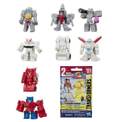 Hasbro Transformers E4485 ТРАНСФОРМЕРЫ Фигурка ТУРБО МИНИ-ТИТАНЫ
