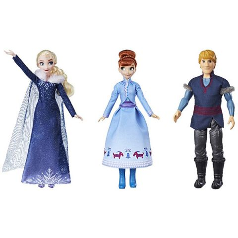 Hasbro Disney Princess E2658 Кукла Холодное Сердце Рождество с Олафом