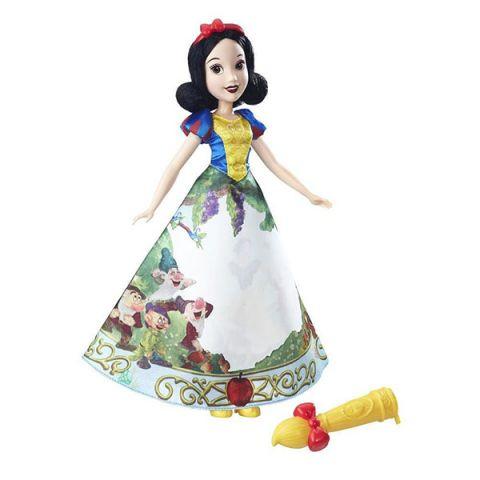 Hasbro Disney Princess B5295/B6851 Модная кукла Принцесса с проявляющимся принтом Белоснежка