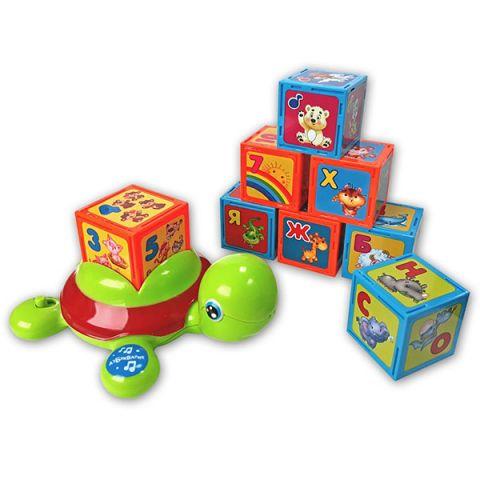 "Азбукварик 2244 ""Черепашка-Умняшка с кубиками"""