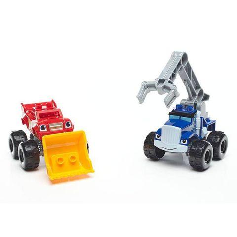 Mattel Mega Bloks DRX14 Мега Блокс Вспыш: монстр - траки с аксессуарами