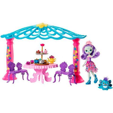 "Mattel Enchantimals FRH49 Набор ""Чаепитие Пэттер Павлины и Флэпа"""