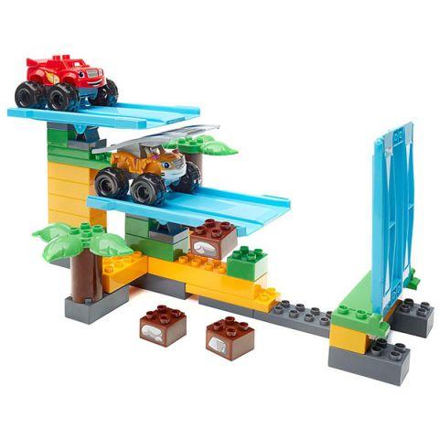 Mattel Mega Bloks DPH78 Мега Блокс Вспыш: гонки в джунглях