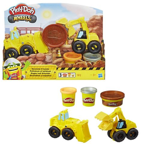 Hasbro Play-Doh E4294 Плей-До Экскаватор