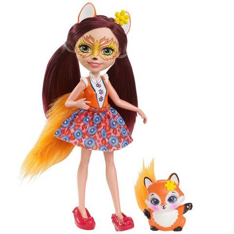 Mattel Enchantimals DVH89 Кукла Фелисити Лис, 15 см