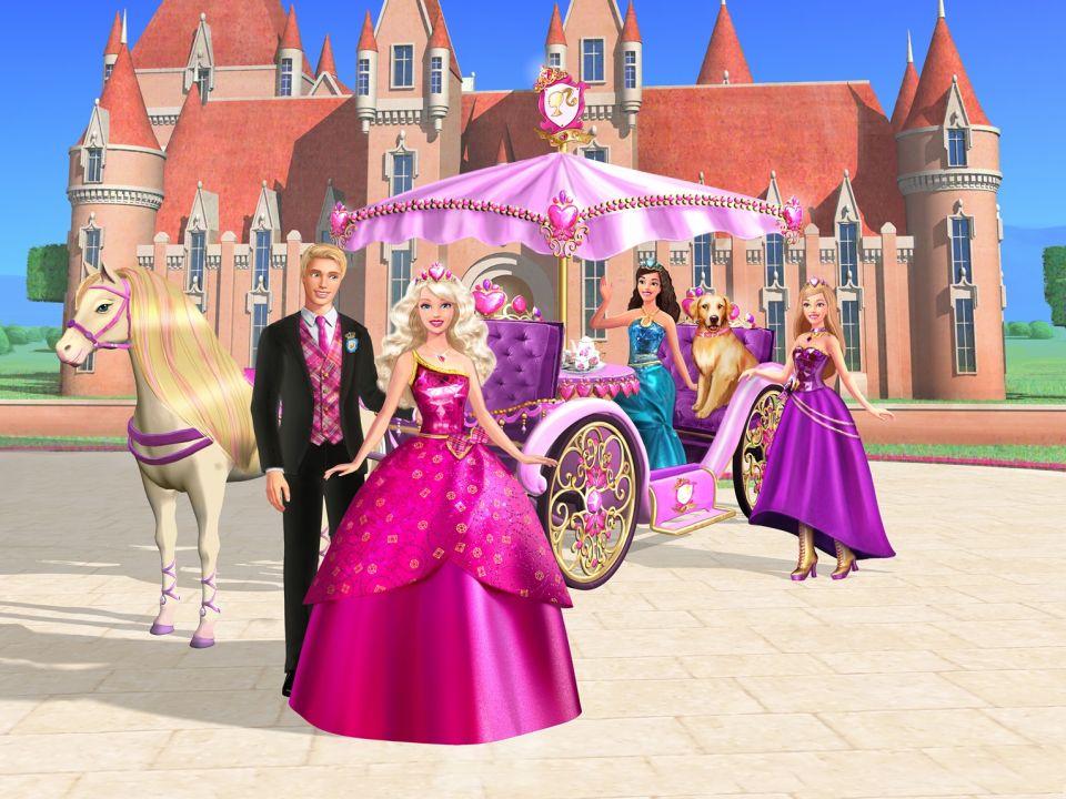 Мультик «Барби: Академия принцесс» – детские мультфильмы ...