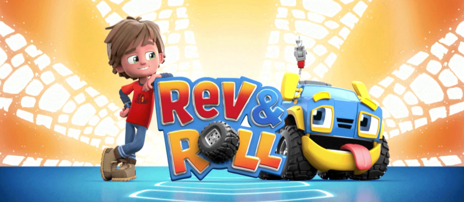 Rev&Roll EU881710 Фигурка+машинка (пластик) - Рев и Рамбл